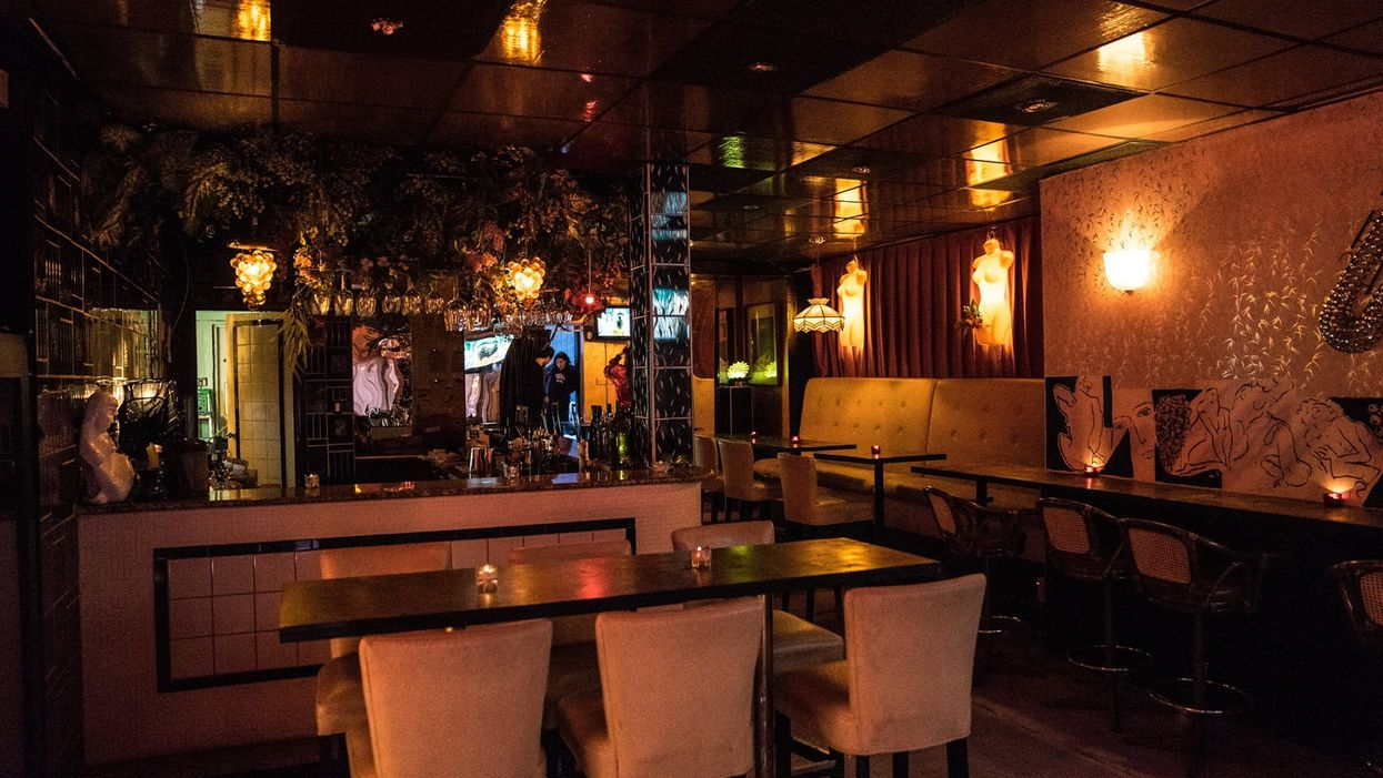 This Montreal Wine-Bar Will Make You Feel Like You're In An Underground Sex Club