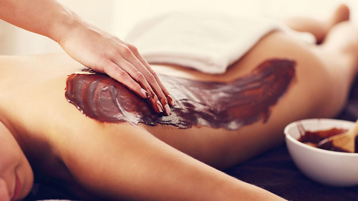 """You Can Now Take """"Chocolate Baths"""" In Montreal"""