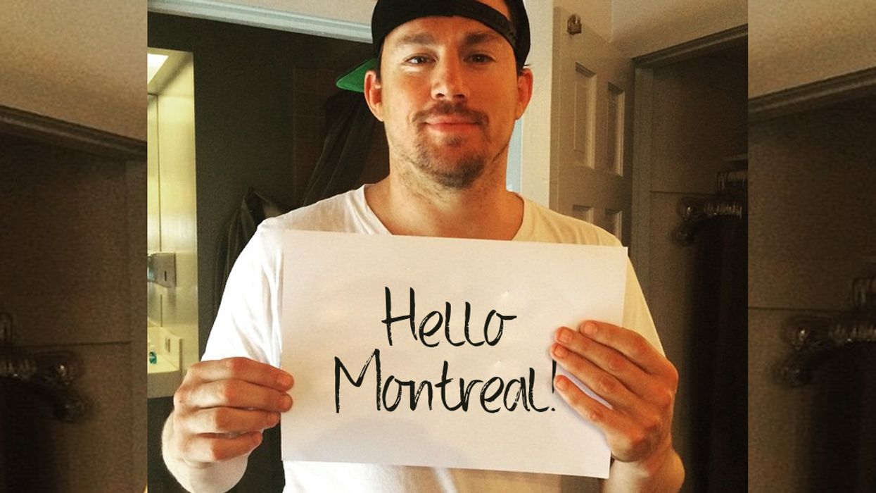Channing Tatum Is Coming To Montreal