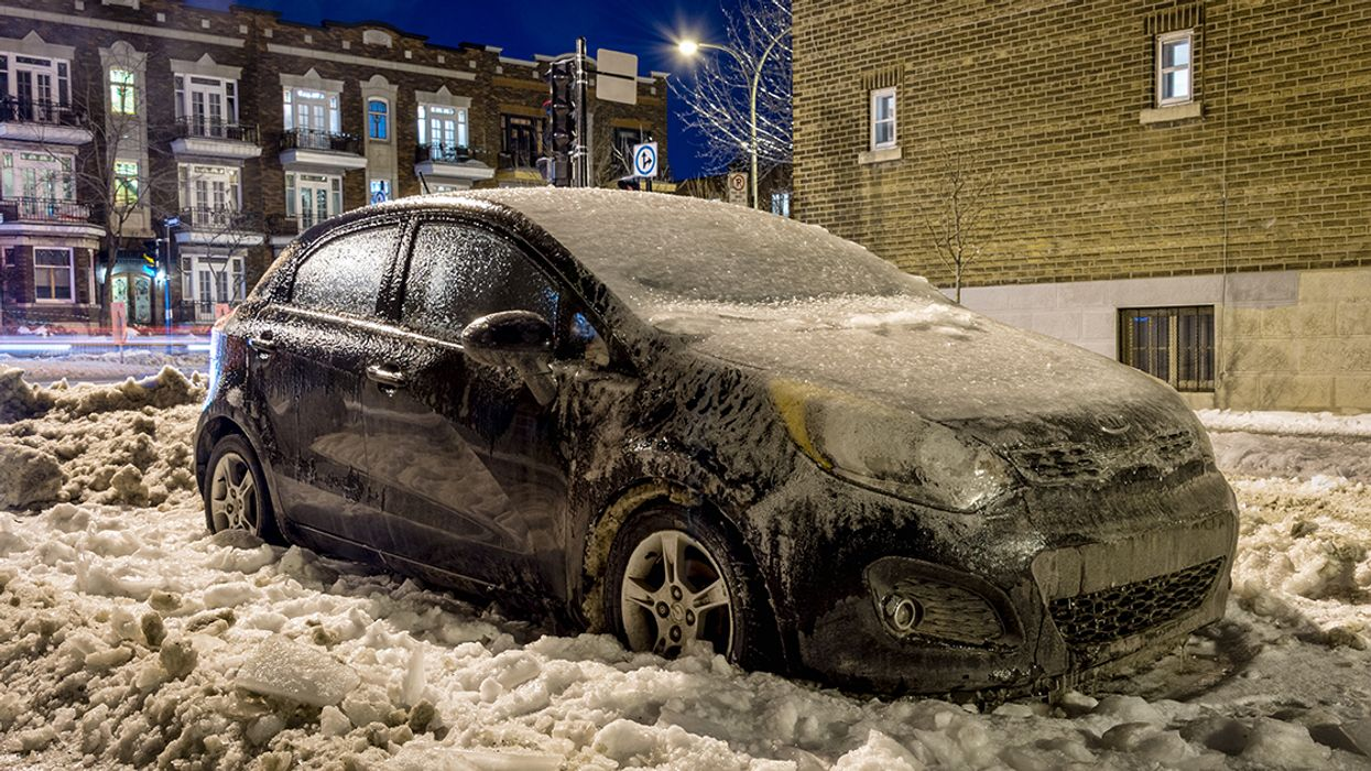 Environment Canada Warning: Risk Of Freezing Rain In Montreal