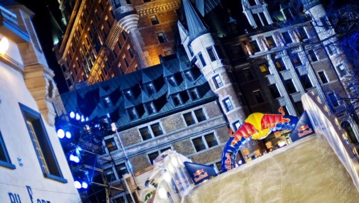 """Pre-Cap to RED BULL """"Crashed Ice"""" in QUEBEC CITY"""
