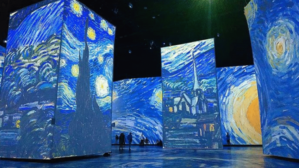 Vincent Van Gogh Exhibit Montreal Includes Giant Projections Of The Artist's Work