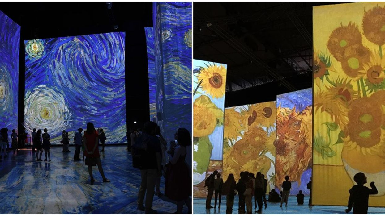 Montreal's Imagine Van Gogh Exhibit Opens This Week & 3 Days Are Already Sold Out