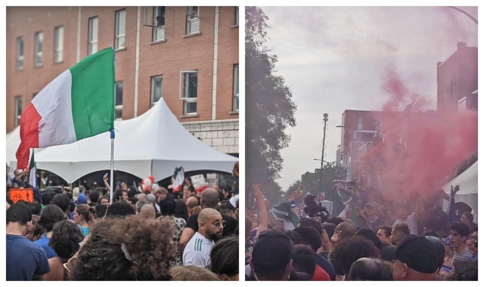 These Videos Of Crowds In Montreal When Italy Won The Euro 2020 Will Give You Major FOMO