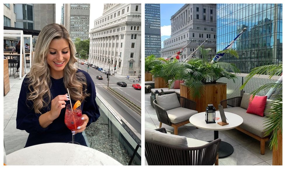 This Montreal Terrasse Feels Just Like You're In NYC & It's The Ideal Spot For A 5 à 7