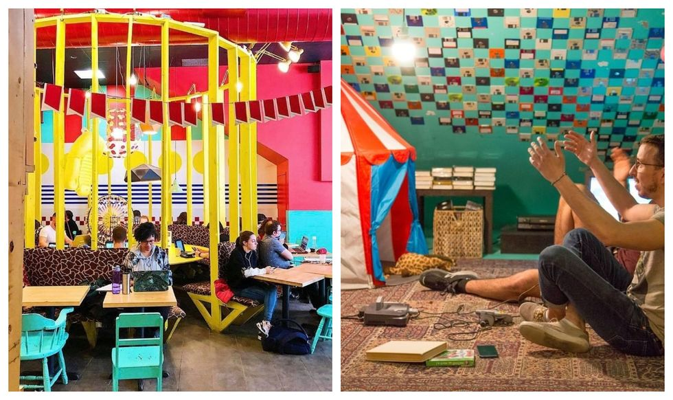 This Montreal Café Looks Like The Inside Of A Kid's Room — But With Wine & Beer (PHOTOS)
