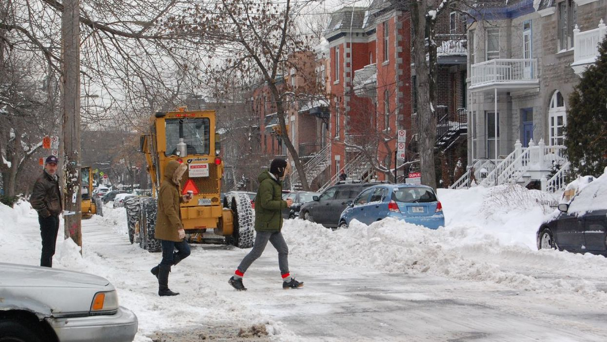 All The Snow In Montreal Won't Be Cleared Until After New Year's Eve