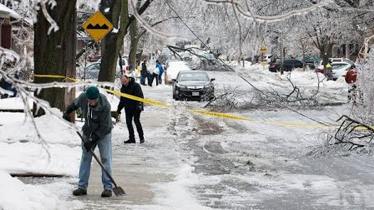 Warning: Severe Freezing Rain Alert In Effect For Montreal