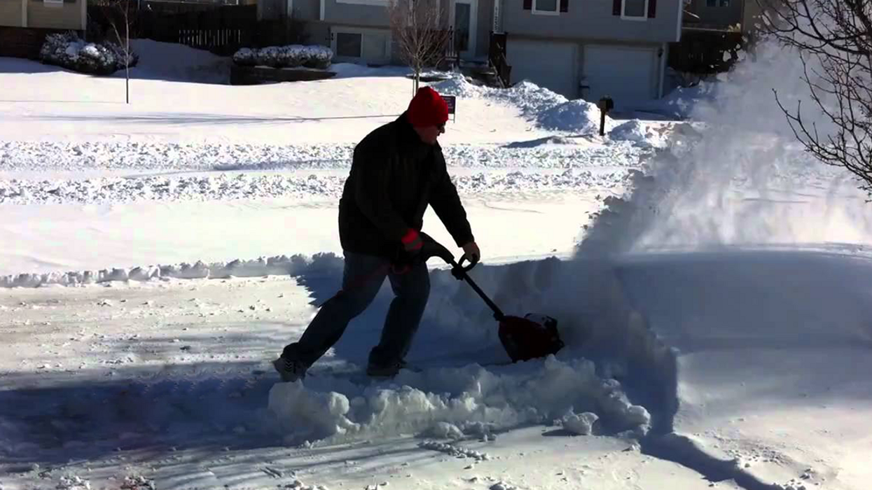 Home Depot Now Sells Snow Blowing Shovels