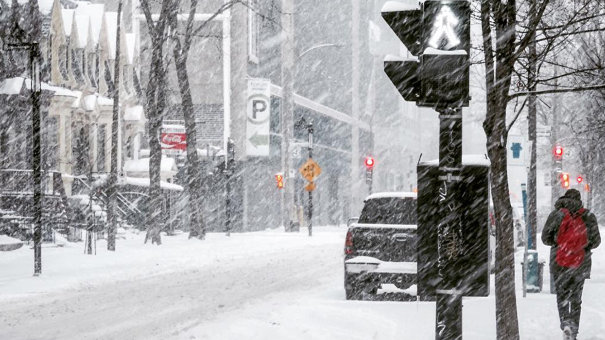 Montreal To Get 15cm Of Snow For Christmas