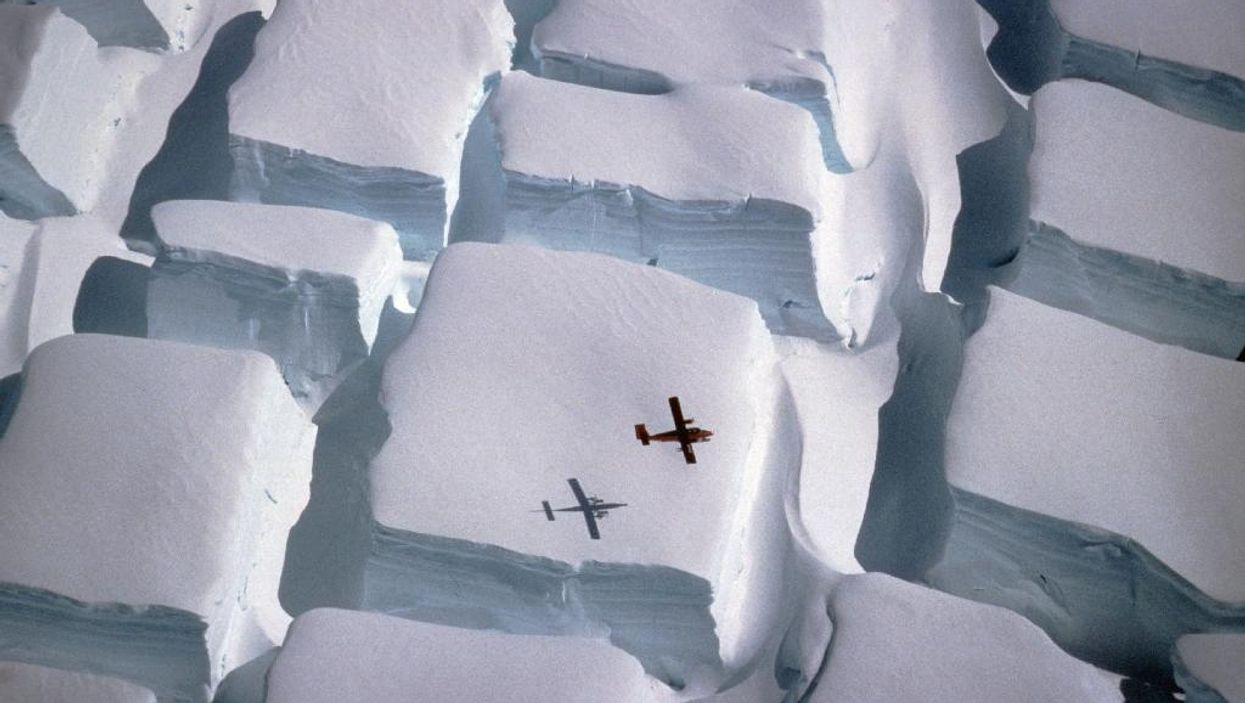 Mysterious Ice Blocks Have Appeared In Antartica