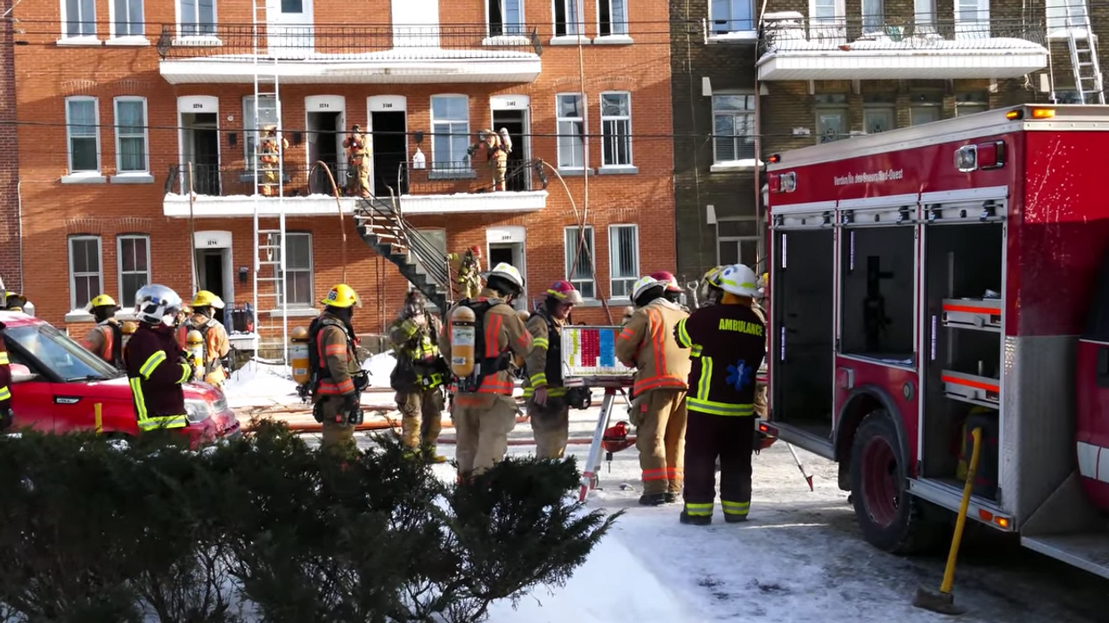 Montreal Man Causes Major Fire And Power Outages By Using Blow Torch To Unfreeze Pipe