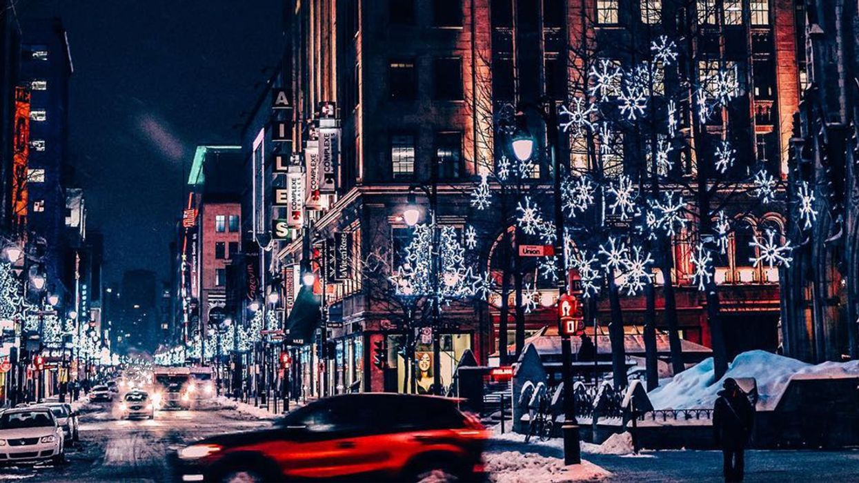 Montreal Is Getting Heated Sidewalks On Sainte-Catherine Street