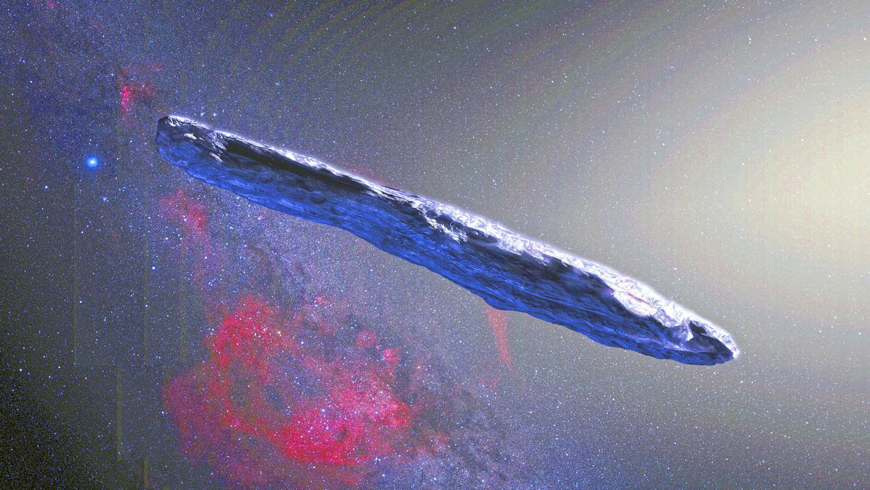 Alien Technology May Be Floating In Our Solar System
