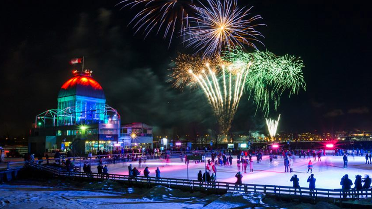 Montreal's Beautiful Old Port Ice Skating Rink Open Tomorrow