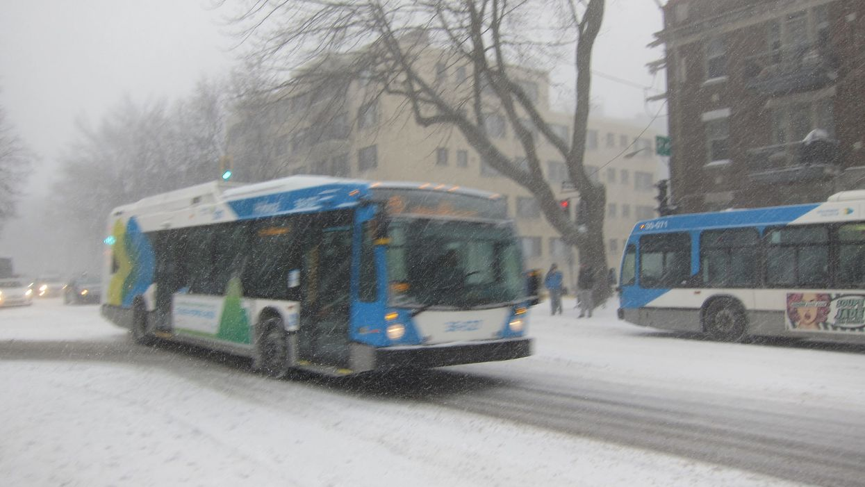 The STM Lied To Us, Montreal Buses Are Not Prepared For Winter