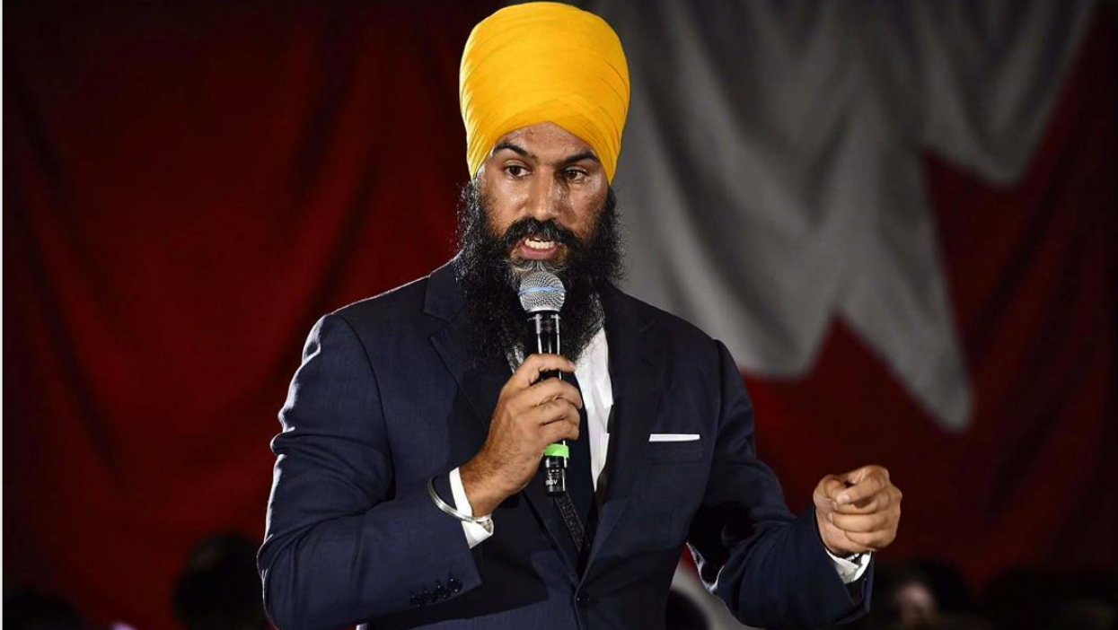 """Jagmeet Singh Thinks Justin Trudeau Is """"Betraying"""" Canadians"""