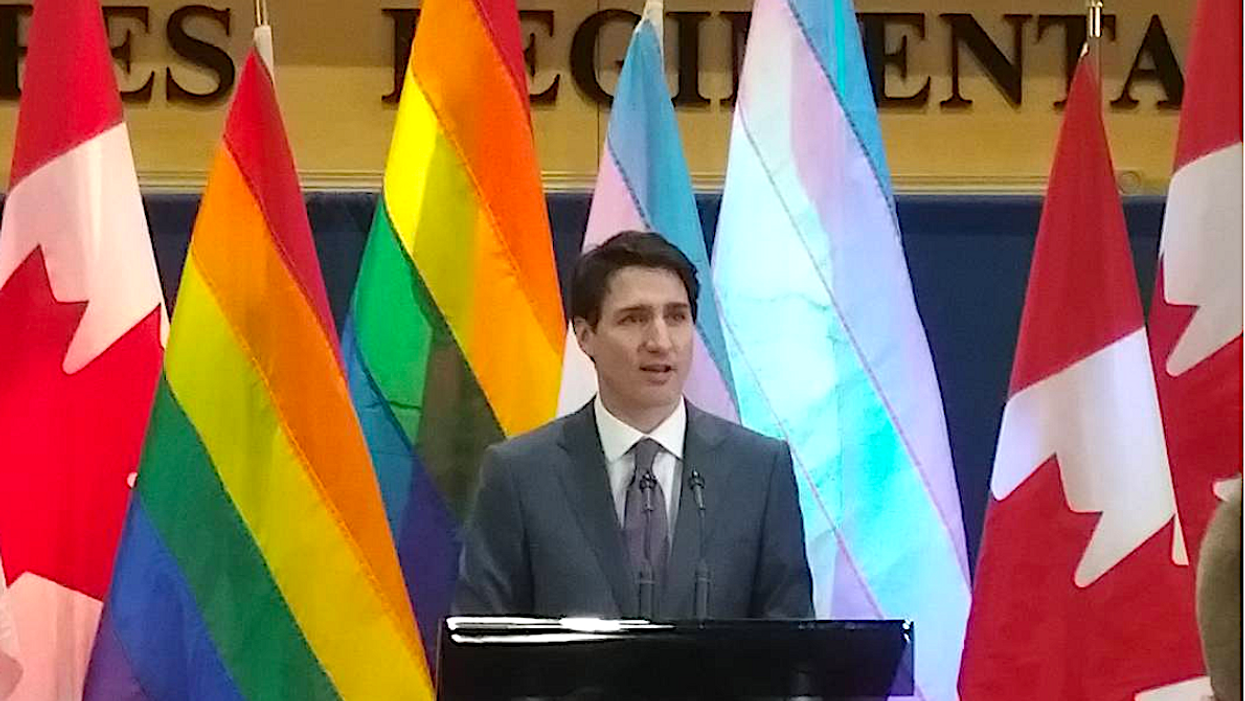 Justin Trudeau's Apology To LGBTQ+ Canadians Means Nothing Unless He Does This