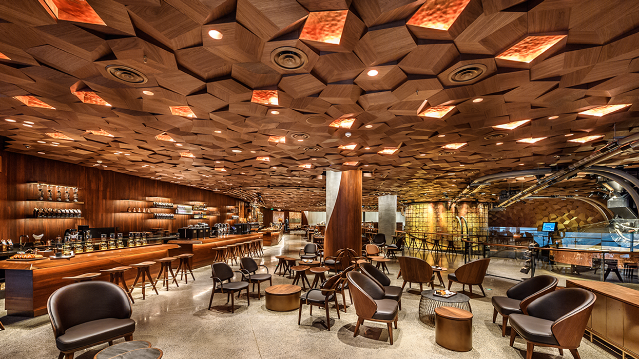Starbucks Just Opened The World's Biggest Coffee Shop (Photos)