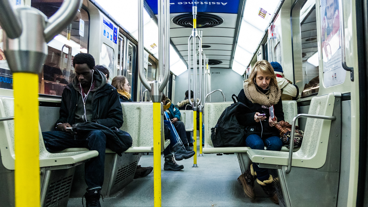 This Montreal Woman Was Given A Ticket By The STM Cops For Not Holding Metro Escalator Rail