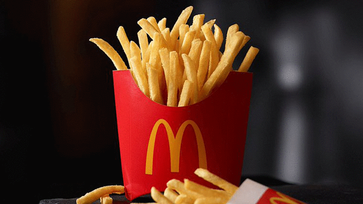 FREE McDonald's Fries In Montreal Today Only