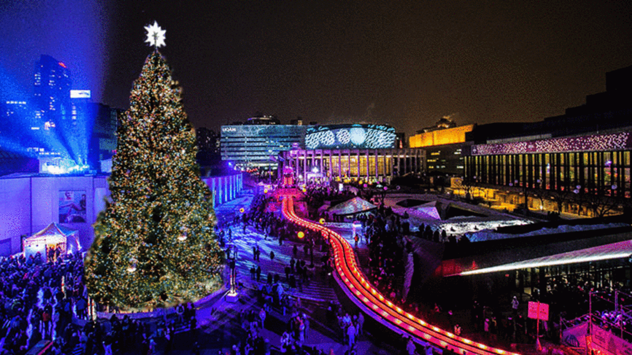 Downtown Montreal Getting Giant Christmas Tree In December