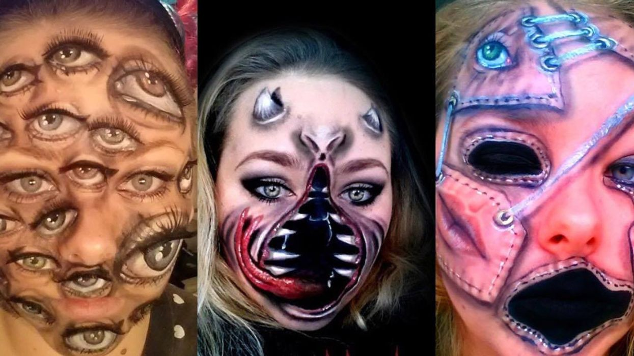 This Montreal Makeup Artist Will Transform You Into A Terrifying Creature This Halloween