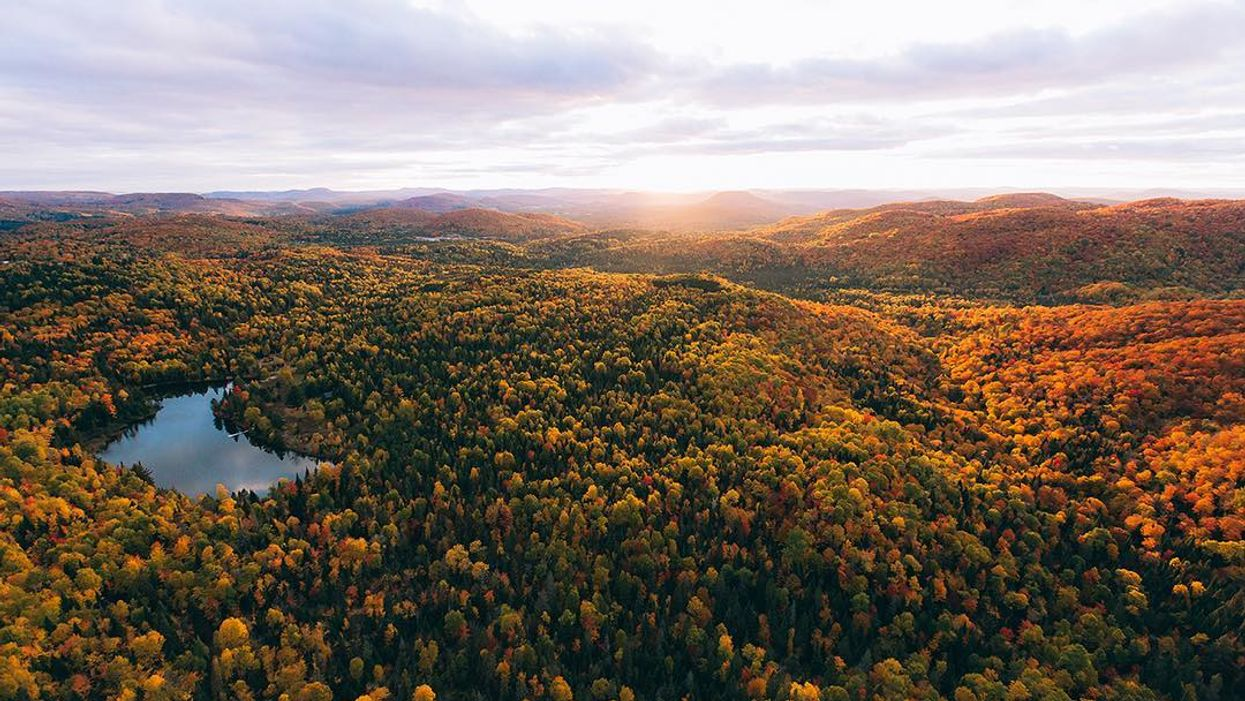 This Quebec National Park Ranked Top Place In The World To See Fall Foliage