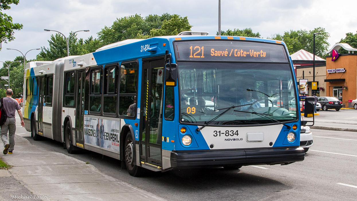 It's Official, Montreal STM Buses Will Now Let You Use Your OPUS Card Through The Back Door