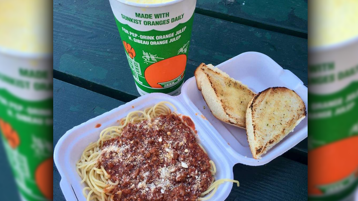 The Best Spaghetti In Montreal Is At The Orange Julep. Yes, The Orange Julep!