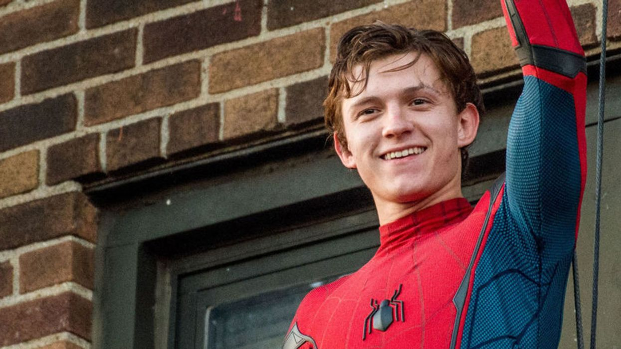 Tom Holland Spotted Hanging Out In Montreal