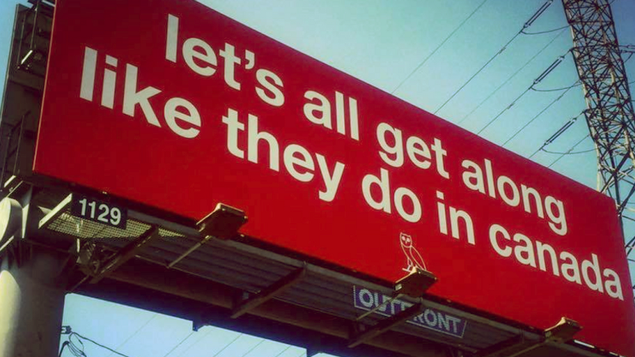Drake Pays For Giant Billboard About Canada In Los Angeles
