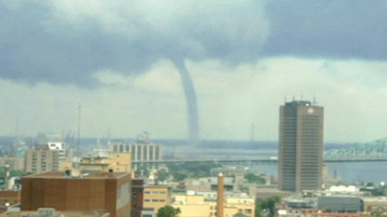 Tornado Warning Issued For Montreal