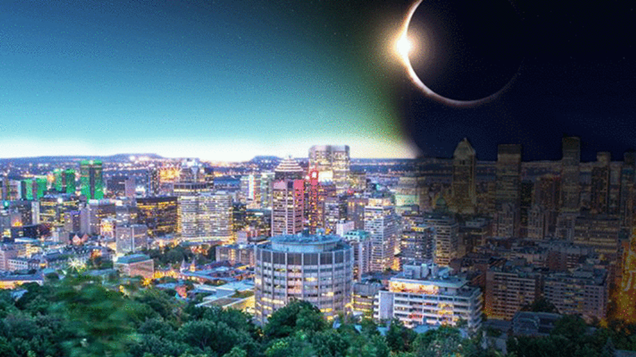 Here's When And Where You Will A Solar Eclipse In Montreal Next Week
