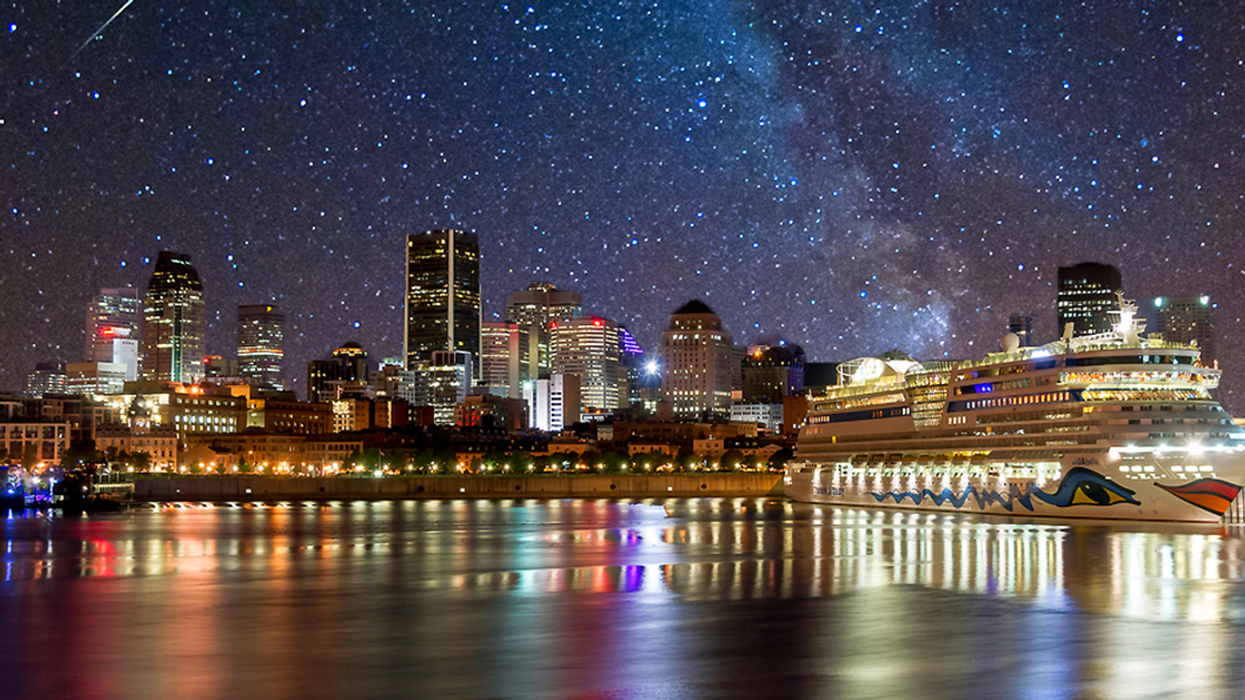 A Massive Meteor Shower Will Be Visible Over Montreal This Week