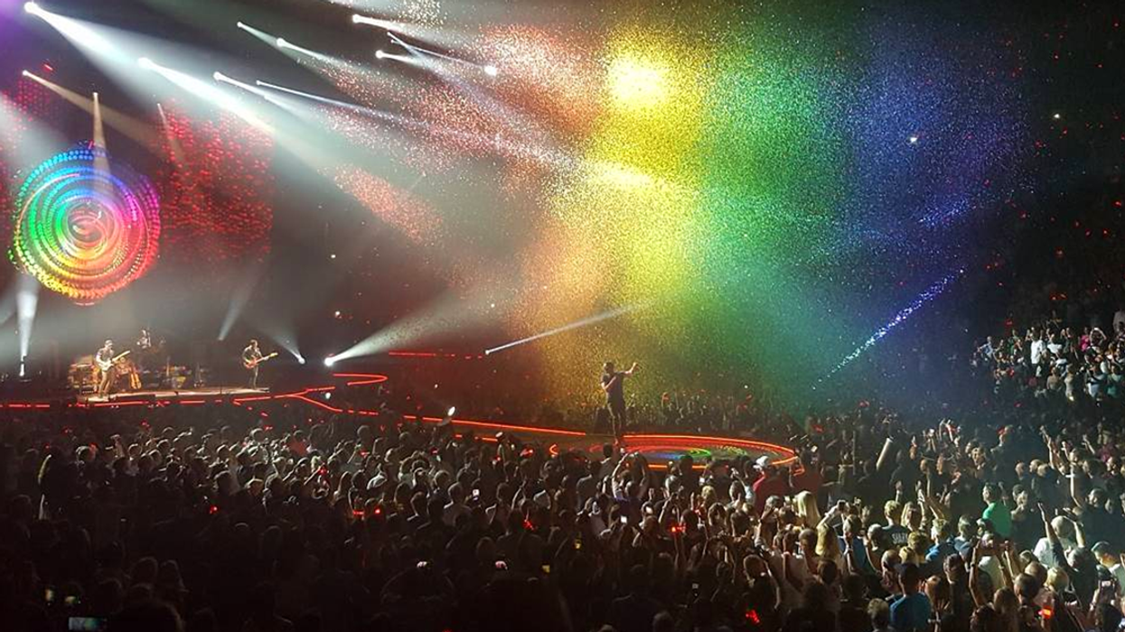 All The Photos From The Coldplay Concert In Montreal You Gotta See To Believe