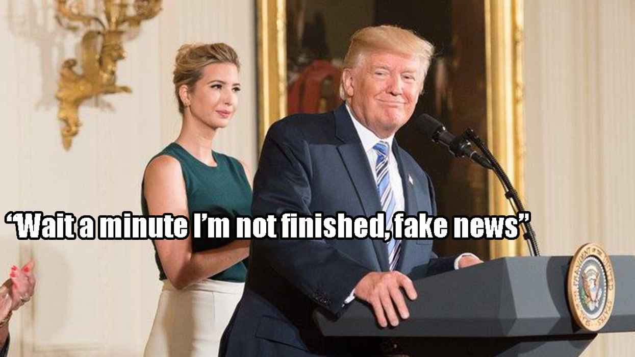 """14 """"Crazy Things"""" Donald Trump Said In His Speech Yesterday"""