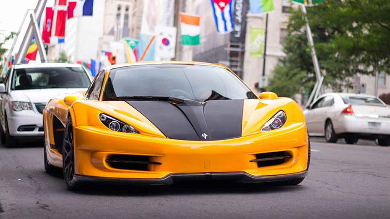 """First-Ever Quebec-Made """"Supercar"""" Spotted Downtown Montreal (Photos)"""