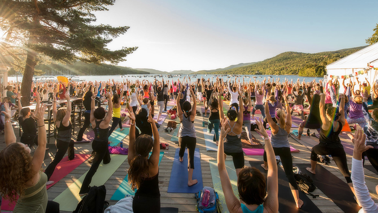 Mont-Tremblant Is Hosting A Huge Yoga Festival This Summer This Summer
