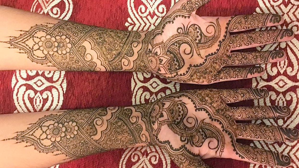This Montreal Woman Does Insane Henna That Looks Lit AF