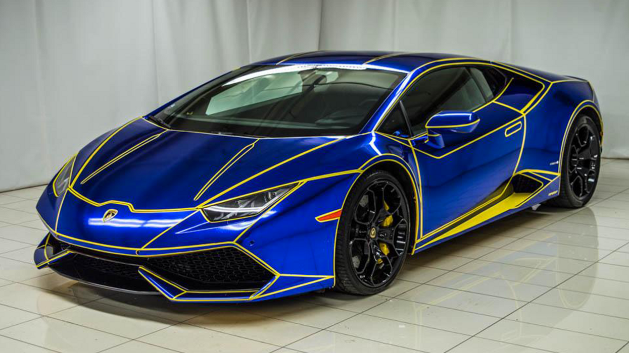 """Tron"" Style Lamborghini For Sale In Montreal"