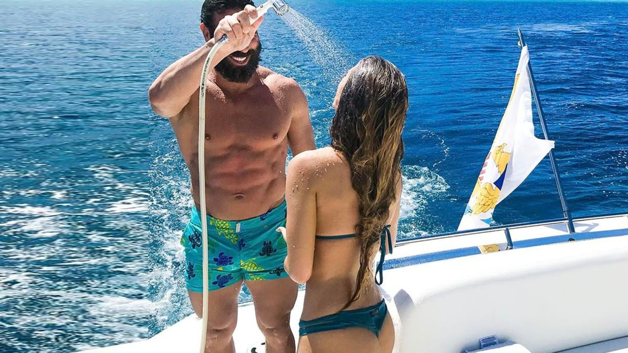 All The Photos You Don't Want To See Of Dan Bilzerian's Super Hot New Girlfriend