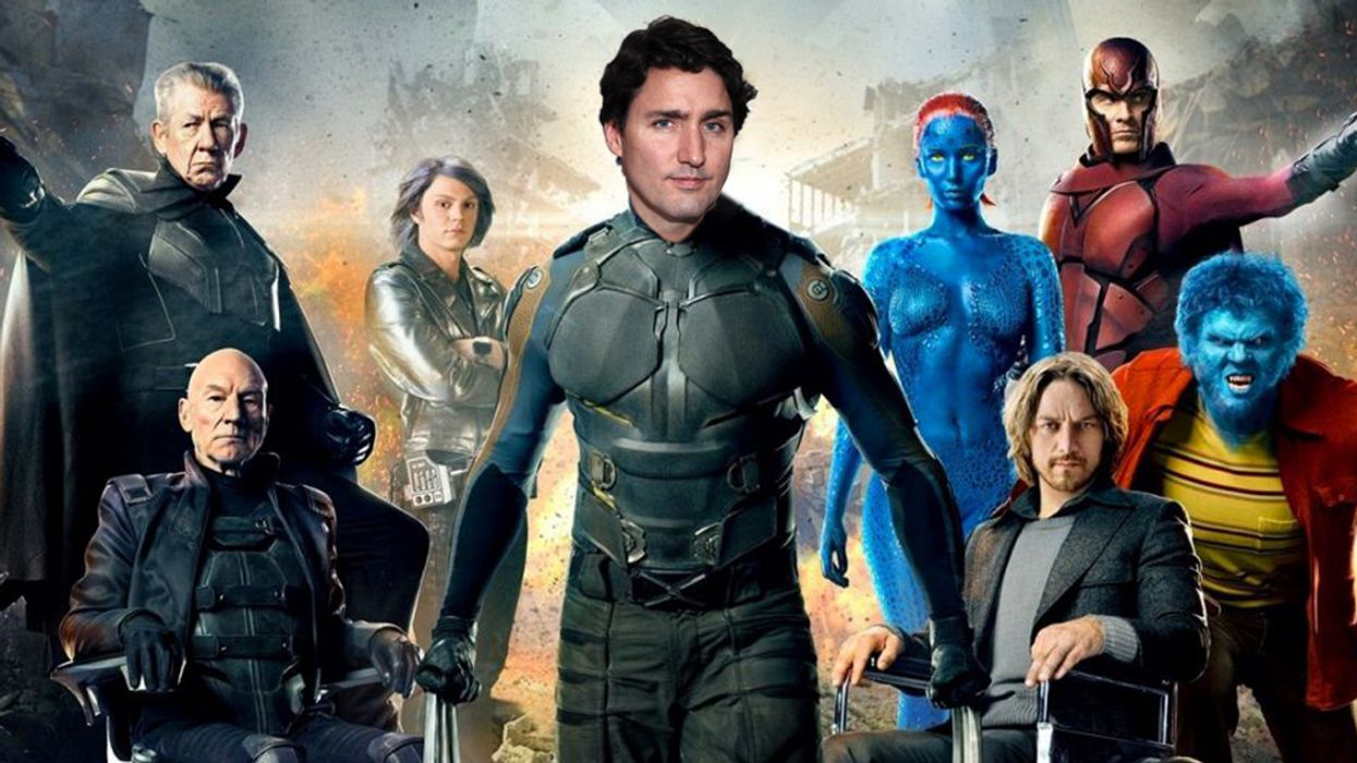 The X-Men Have Officially Figured Out Justin Trudeau's Mutant Power