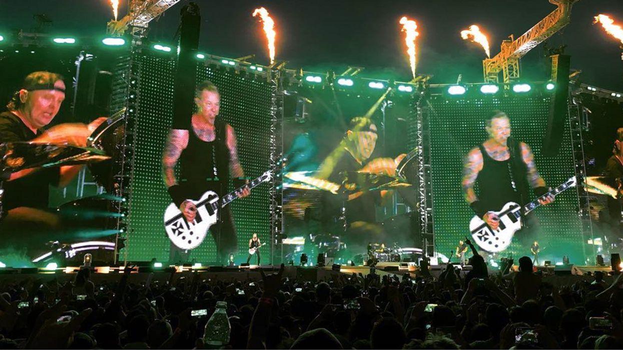 Metallica Rocked Montreal's Face Off At Parc Jean-Drapeau Last Night (25 Photos)