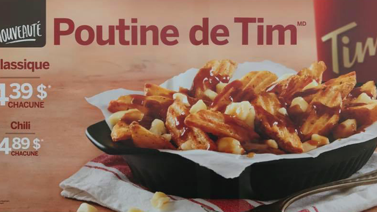 It's Official, Tim Hortons Now Sells Poutine