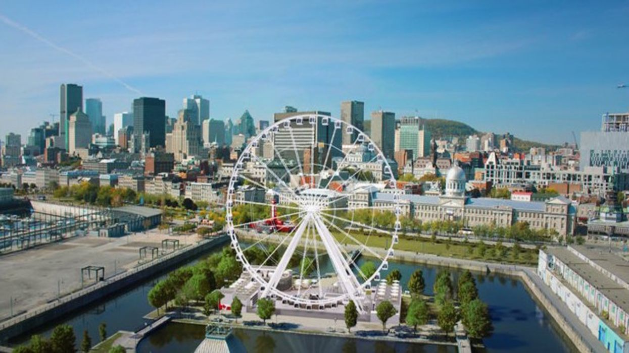 """Montreal's """"Giant Ferris Wheel"""" Delayed Until End Of August"""