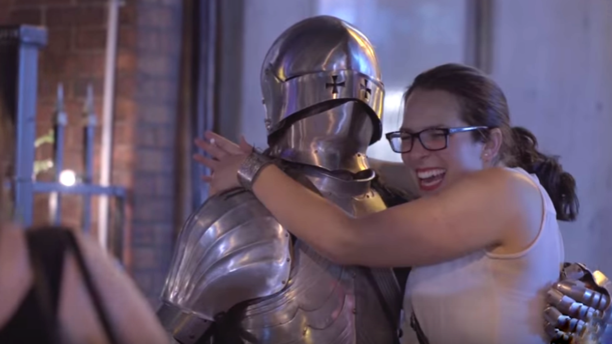 This Montreal Man Dresses Up Like A Knight And Tries To Get Into Nightclubs