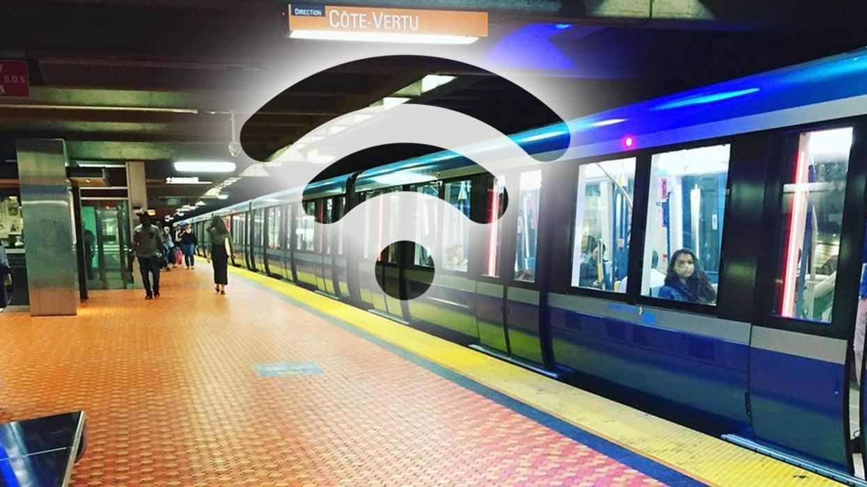 More Than Half Of Montreal's STM Metro Stations Will Soon Have Wi-Fi