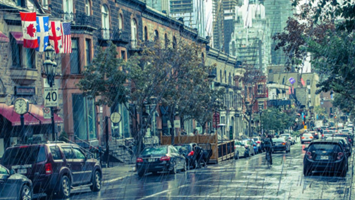 Warning: Montreal Will Be Hit With 7 Straight Days Of Rain