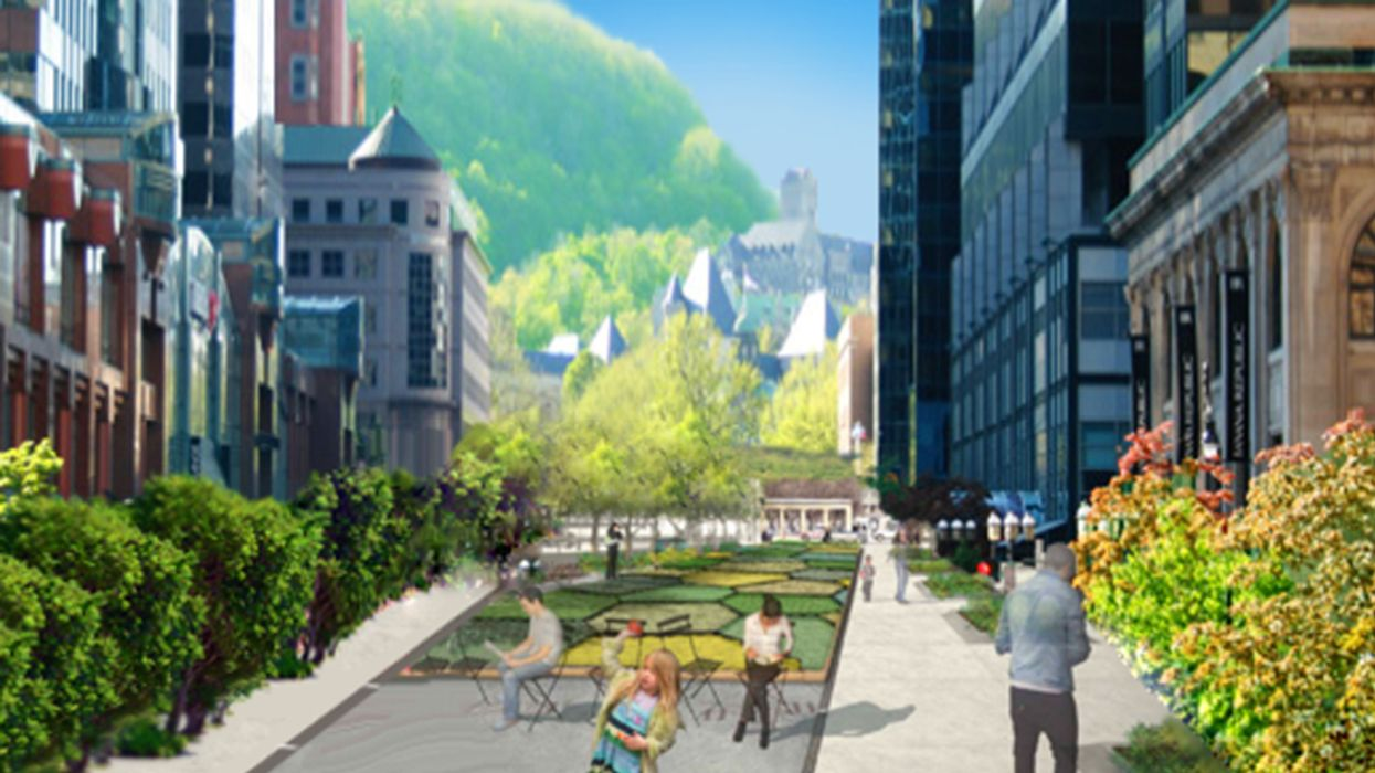 """Montreal's All-New 3.8 km """"River-Mountain Walkway"""" Opens Monday"""